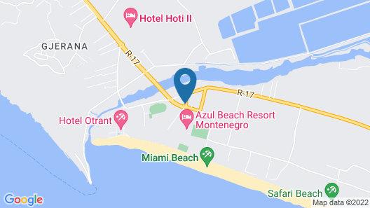 Sole Mio - Hotel Map