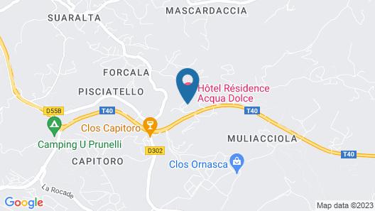 Hôtel Acqua Dolce Map