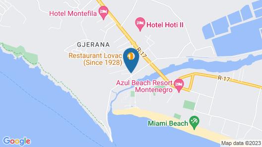 Hotel Petriti & Spa Map