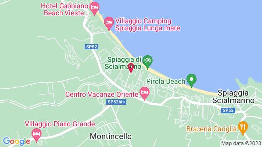 Villaggio Le Orchidee Map