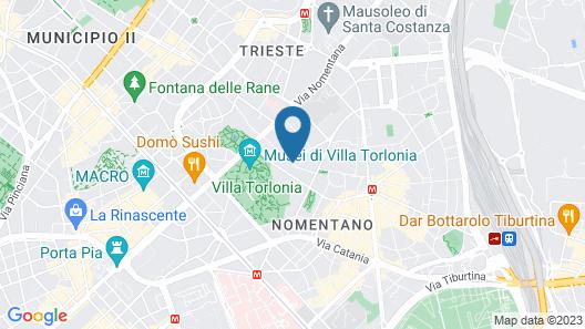 Hotel Silva Map