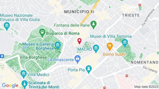 Albani Hotel Roma Map