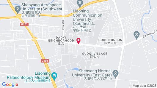 Jinjiang Inn Shenyang Shenbei University City Normal Map