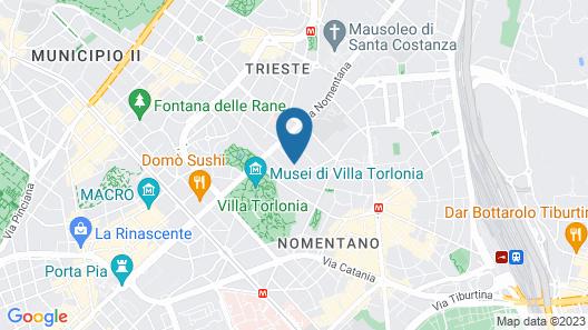 Villa Pirandello Map