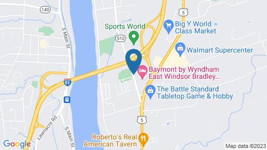 Baymont by Wyndham East Windsor Bradley Airport Map