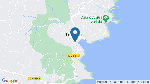 Hotel Hostalillo Tamariu Map