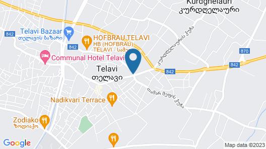 Holiday Inn Telavi, an IHG Hotel Map