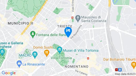 Fenix Hotel Map