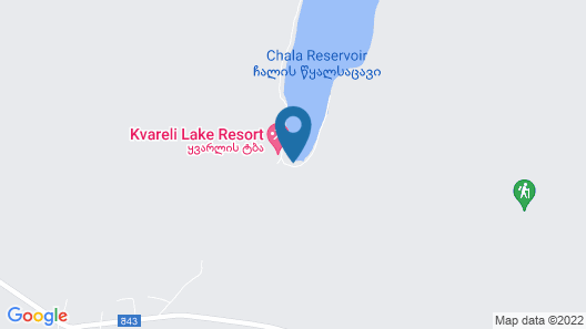 Kvareli Lake Resort Map