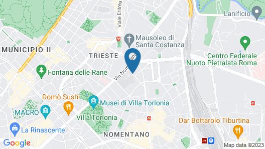 Hotel Principe Torlonia | a Member of Elizabeth Hotel Group Map