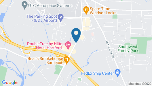 La Quinta Inn & Suites by Wyndham Hartford - Bradley Airport Map