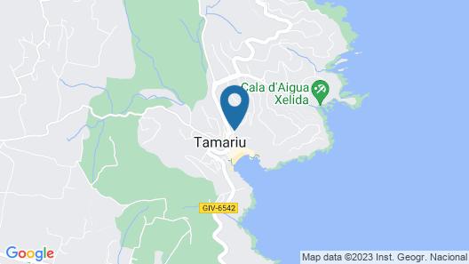 Hotel La Caleta de Tamariu Map
