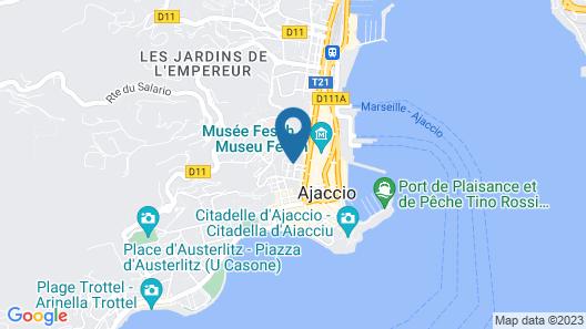 Hotel Napoleon Map