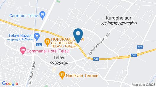 Telavi Inn Map