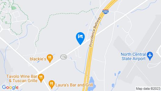 All Seasons Inn & Suites Map