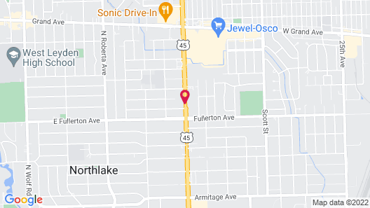 Regal Inn - Chicago O'Hare Airport Map