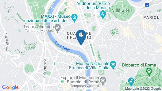 Best Western Hotel Astrid Map