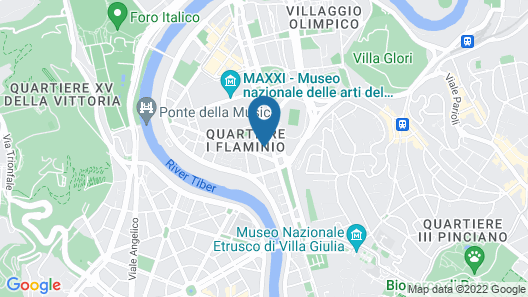 Hotel Villa Glori Map