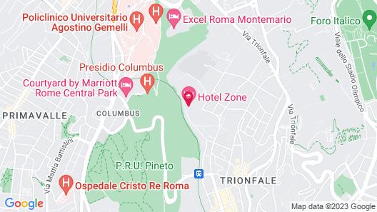 Hotel Zone Map
