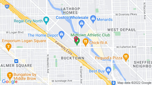 The Hotel at Midtown Map