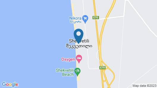 Gina Shekvetili Map