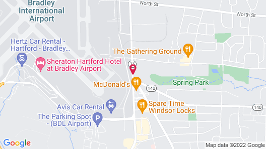 Springhill Suites Marriott Airport Map