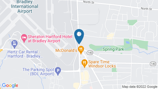 Springhill Suites Marriott Airport Map