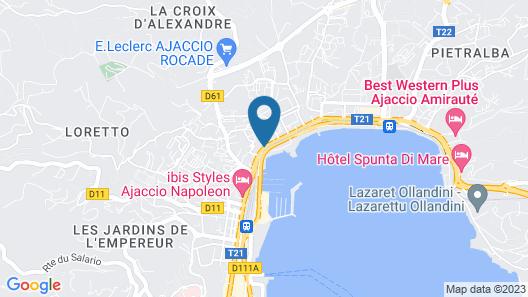 Mercure Ajaccio Centre Map