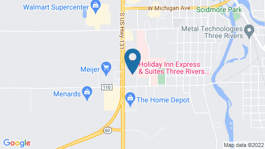 Holiday Inn Express & Suites Three Rivers, an IHG Hotel Map