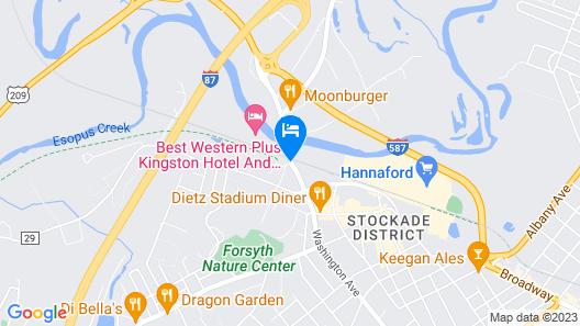 Super 8 by Wyndham Kingston Map