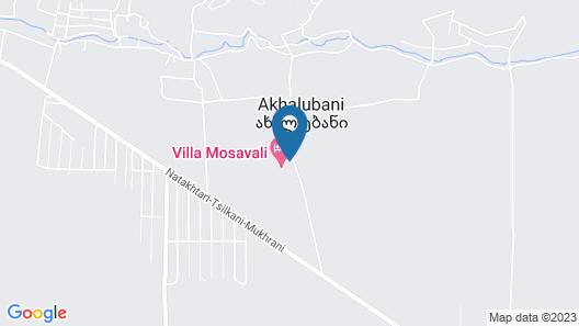 Villa Mosavali Map