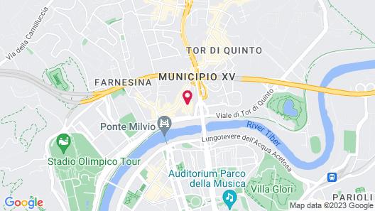 Ponte Milvio Luxury House Map