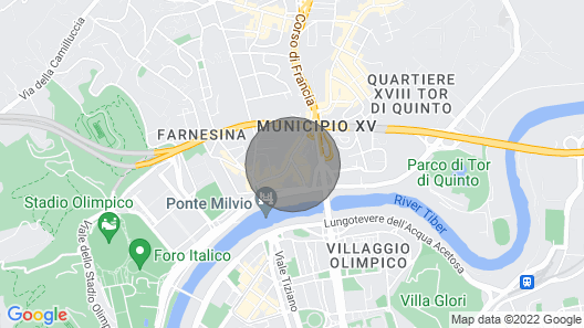 Ponte Milvio Luxury House offers spaces, furniture, services and comfort from 5 STARS. Map