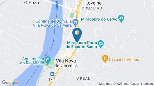 HI Vila Nova Cerveira Pousada Juventude Map