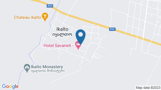 Savaneti Map