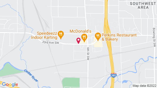 Baymont by Wyndham Cedar Rapids Map