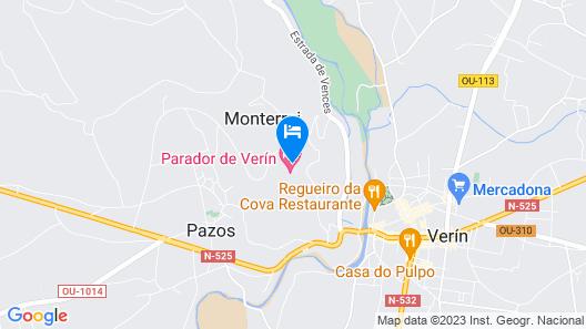 Parador De Verin Ourense Map