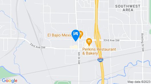 Fairfield Inn & Suites Cedar Rapids Map