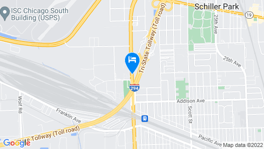 Quality Inn O'Hare Airport Map