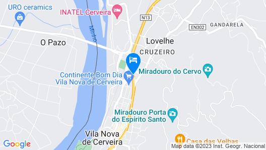 Hotel Minho Belo Map