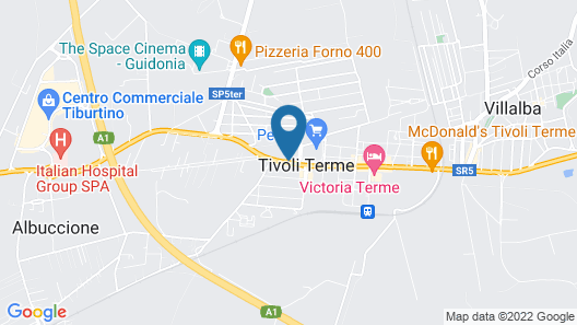 Grand Hotel Duca D'Este Map