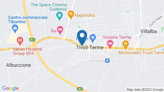 Hotel Tivoli Map