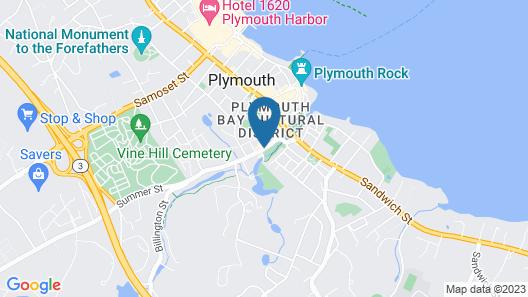John Carver Inn & Spa Map