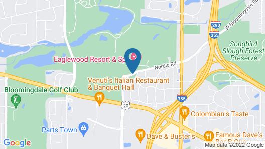 Eaglewood Resort and Spa Map