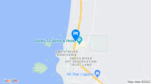Lucky 7 Casino & Hotel – Howonquet Lodge Map