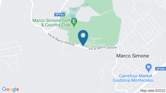 Carpediem Roma Golf Club Map
