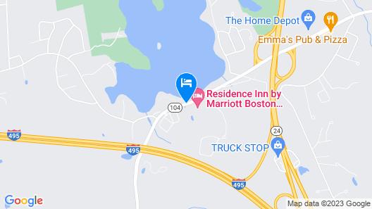 Residence Inn by Marriott Boston Bridgewater Map