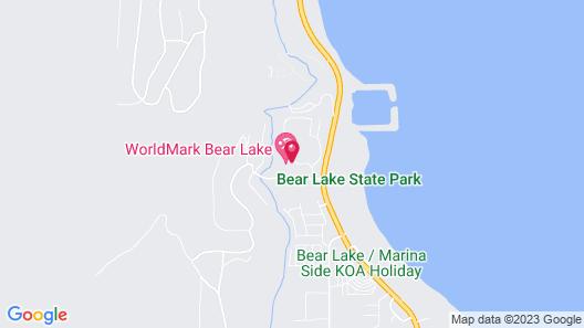 WorldMark Bear Lake Map