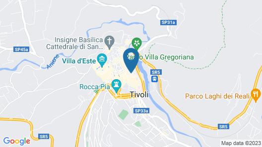 Torre Sant'Antonio Tivoli Map