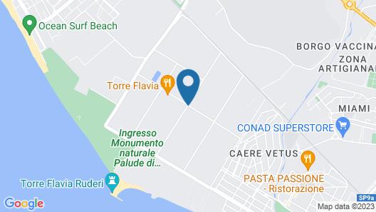 Agriturismo Torre Flavia Map